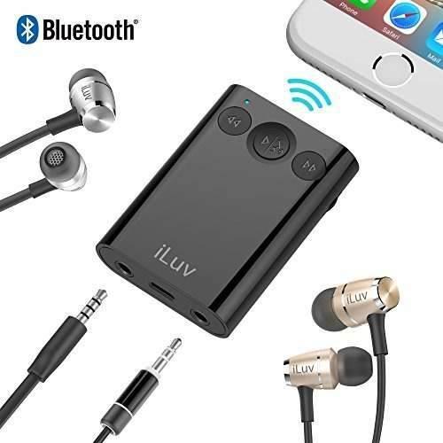 Receptor Estéreo Bluetooth Con Manos Libres, Adaptador De