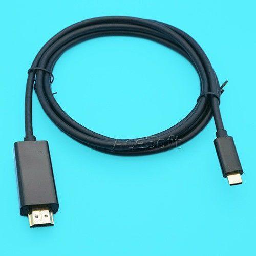 Tipo C A Hdmi Hdtv Av Tv Cable Adaptador Para Samsung Galax