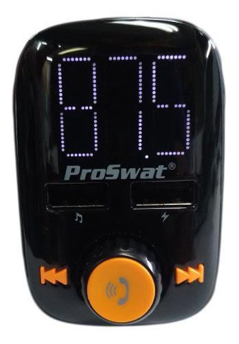 Transmisor Fm Bluetooth, Usb Proswat Pro-60fm