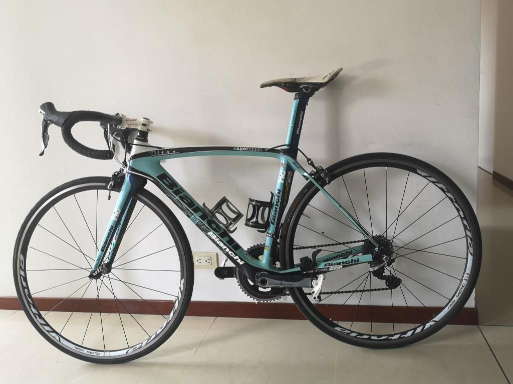 Vendo Bicicleta Bianchi Alta Gama