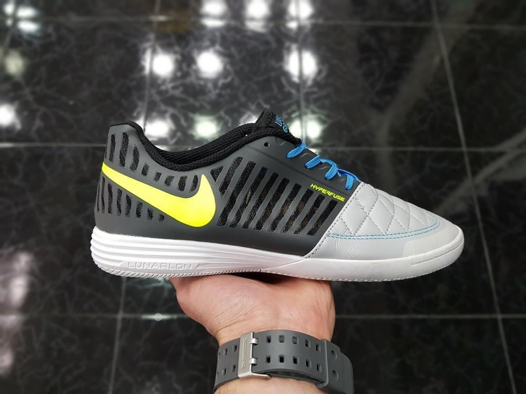 Zapatillas Nike Futsal Luna Gris