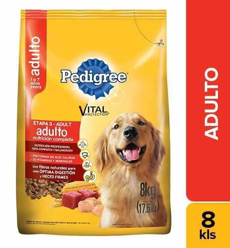 Alimento Para Perro Pedigree Adulto X 8kg