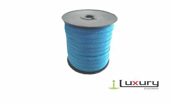 Cinta Electro Plástica Para Cerca Eléctrica 12mm 200mts