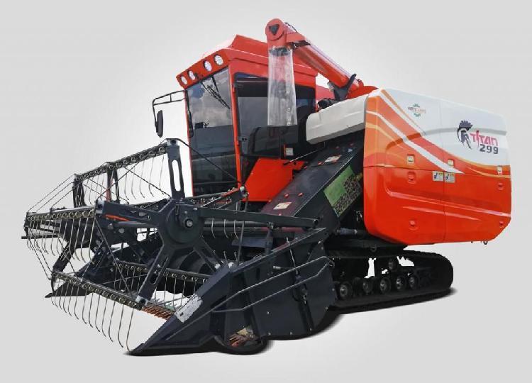 Cosechadora de arroz TITAN299