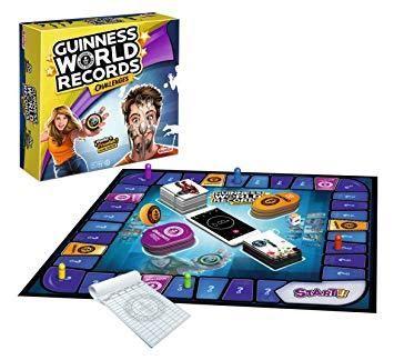 GUINNESS WORLD RECORDS CHALLENGES RETOS JUEGO DE MESA