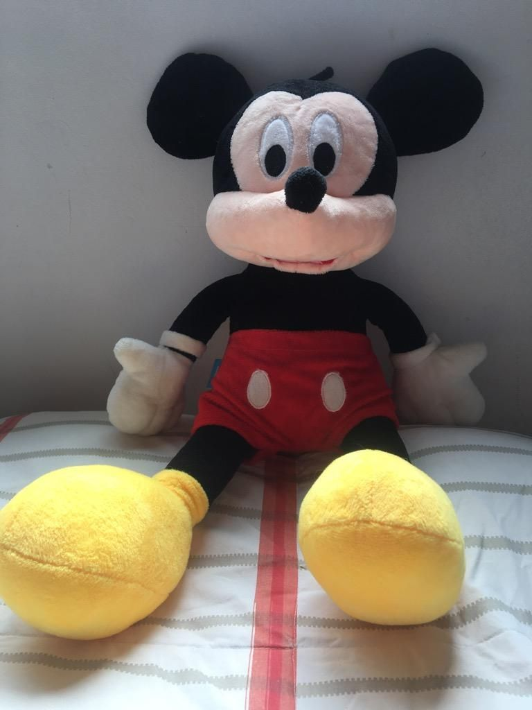 Peluche Mickey Y Minnie Mouse