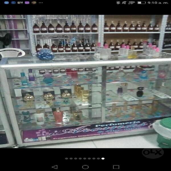 Vendo Montaje para Perfumeria