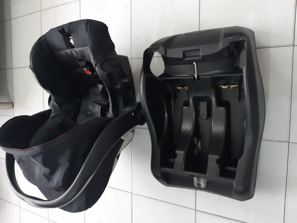 silla para bebe con soporte para carro unisex
