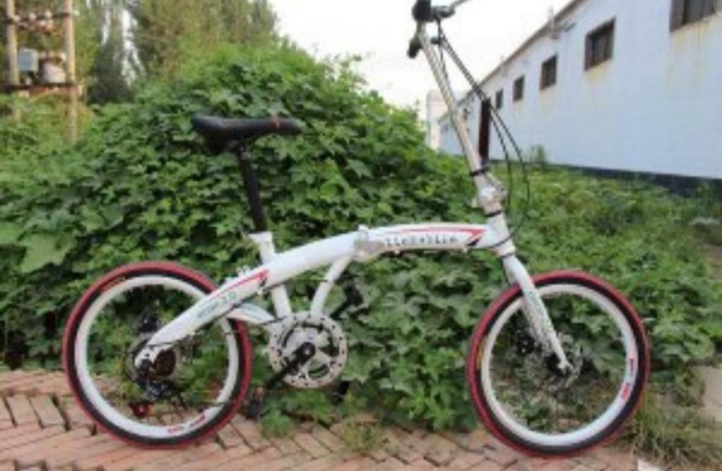 Bicicleta Plegable Alienbike Como Nueva