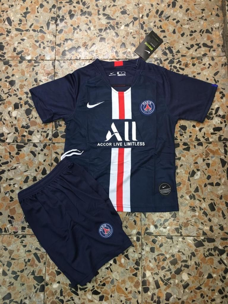 Camiseta Paris Psg para Niño