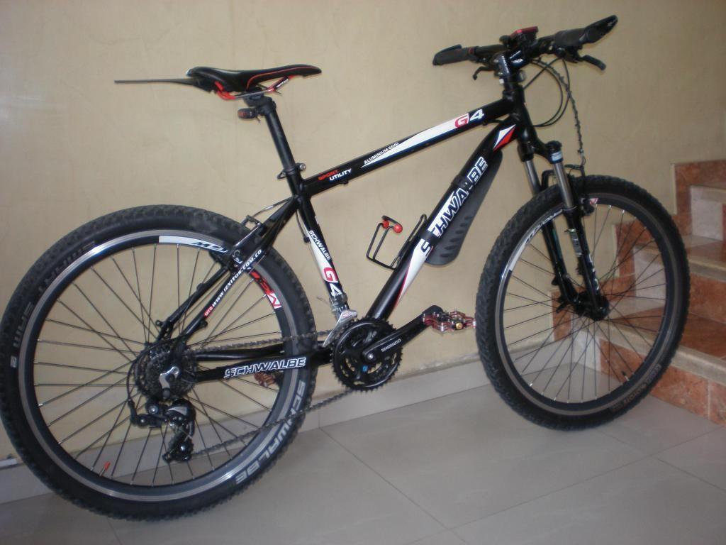 VENDO bicicleta SCHWALBE aluminio rin 26 talla 17 SHIMANO 2