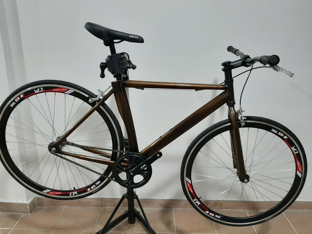 Bicicleta Fixie en Rodamiento Sellado