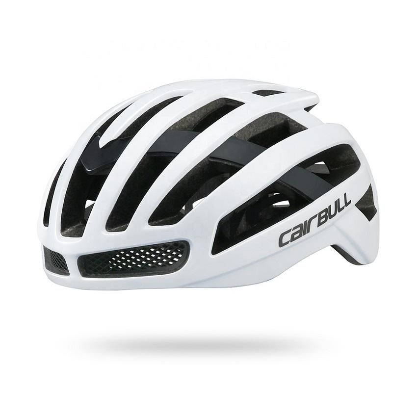 Casco Bicicleta Mtb Ruta Velopro Blanco Cairbull
