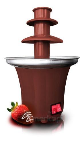 Fuente De Chocolate Mini, Maquina Fondeu 3 Niveles