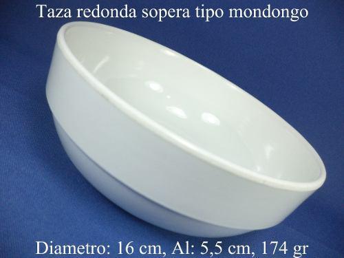 Platos Para Restaurante De Melamina Taza Redonda Sopera