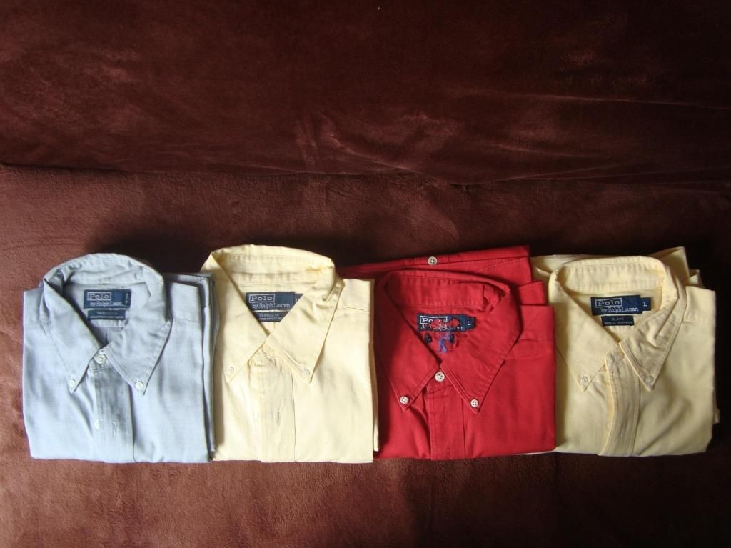 Polo Ralph Lauren Original Camisas Talla L cantidad 4