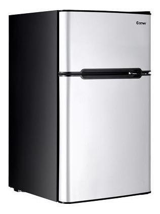 Refrigerador De Acero Inoxidable Refrigerador Pequeño Refri