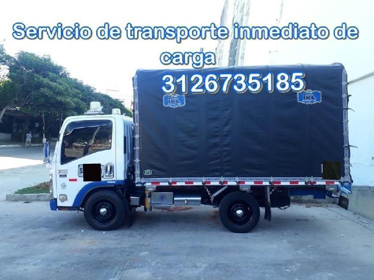Servicio de Transporte Inmediatos de Cargas Y Mudanzas
