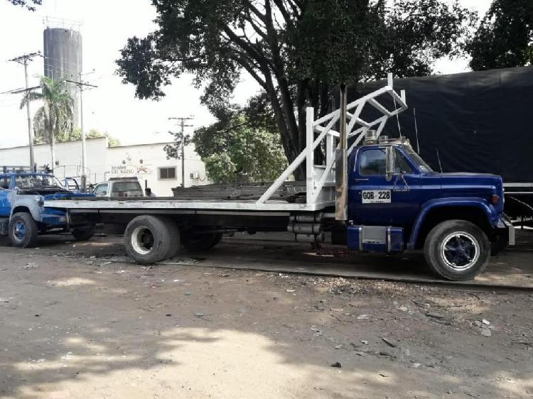 Servicio de transporte de carga Camión en planchón
