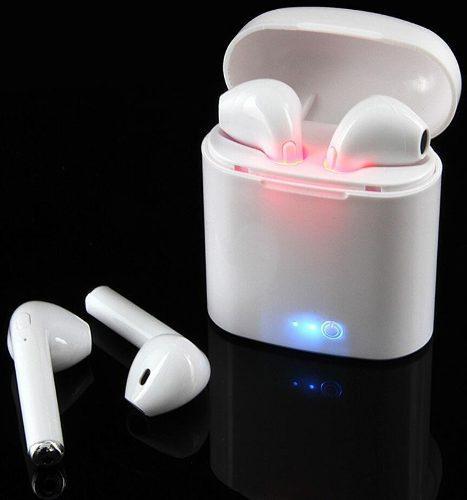 Audifonos Inalambricos Hbq I7s Bluetooth Cargador Portatil