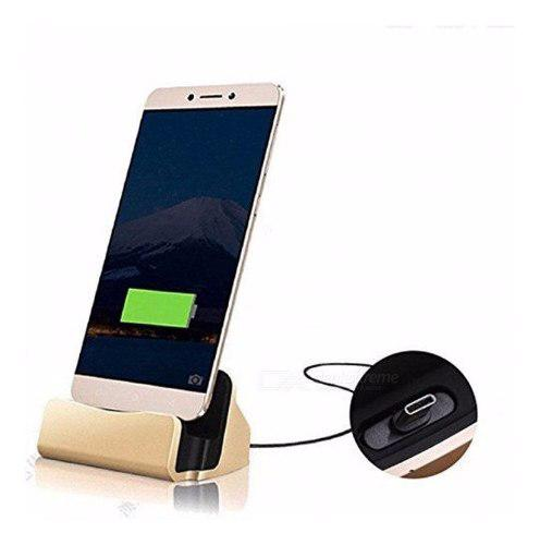 Base De Carga Dock + Cable Android Micro Usb Type C iPhone