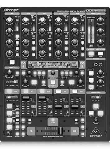 Behringer Digital Pro Mixer Ddm4000 Mezclador Digital De Dj