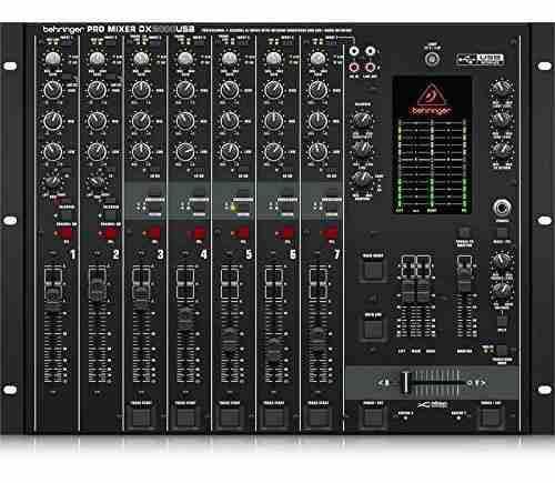 Behringer Pro Mixer Dx2000usb Mezclador Profesional De Dj De