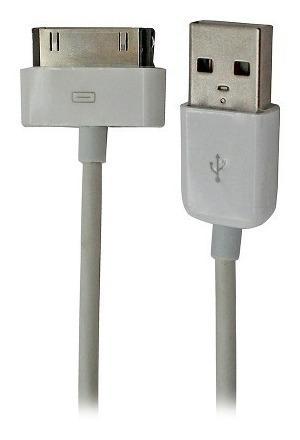 Cable iPhone/iPad/iPod Usb Star Tec 1 Mtr Bolsa Blanco