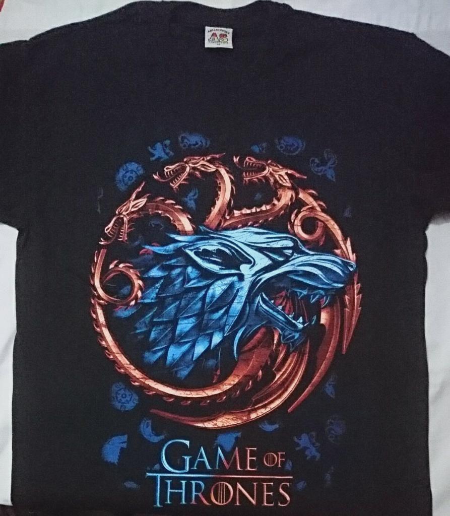 Camisetas Game Of Thrones Guerra Trono