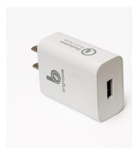 Cargador Compatible Con Apple Y Android 1a Bs1010 Sin Cable