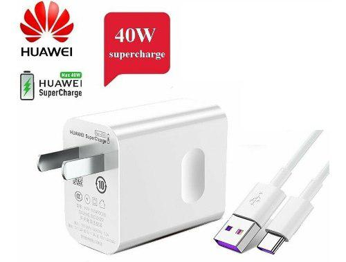 Cargador Huawei Supercharge Type C 40w 5a