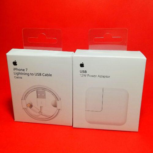 Cargador Original iPad 2 3 4 Pro Apple 12w + Cable 1m