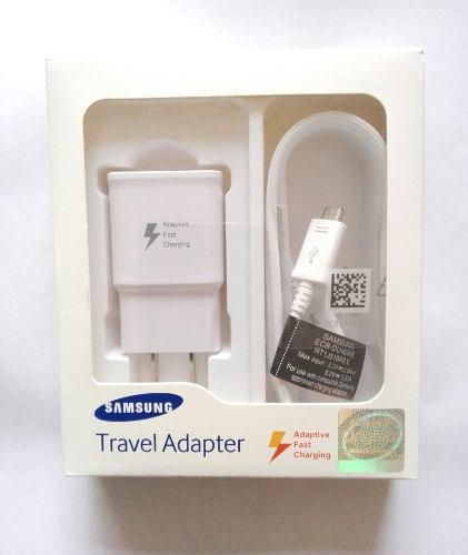 Cargador Rápido Samsung Original J6 J4 S6 S7 J5 J7 J8 A6 A7