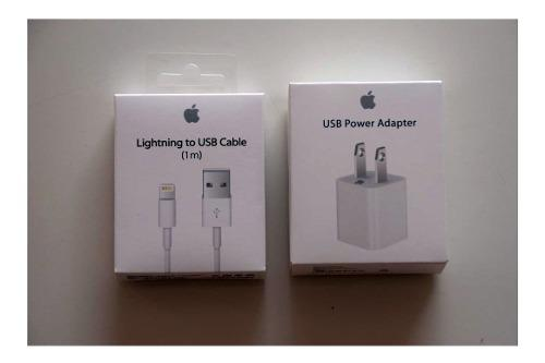 Cargador+cable Lightning 2m Original iPhone 5 6 7, 8, X