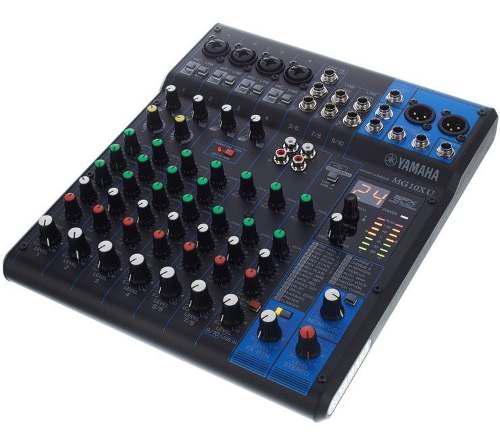 Mezclador / Mixer Yamaha Mg10xu Conn Usb Y Fx