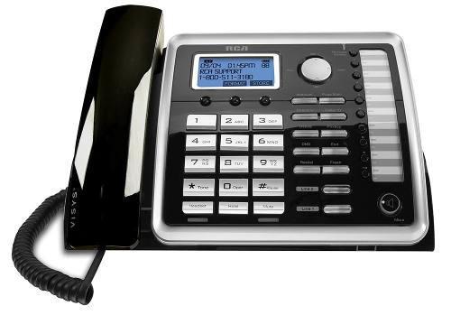 Rca 25260 Na 1 Teléfono Fijo Con 2 Líneas De Teléfono