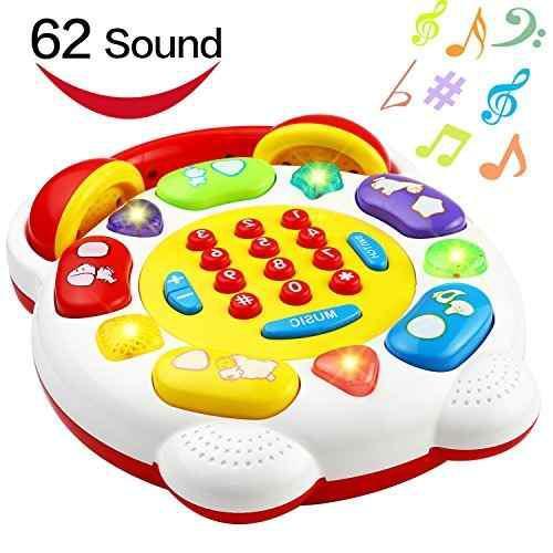 Teléfono De Juguete Teléfono Inteligente Con 22 Botones 62