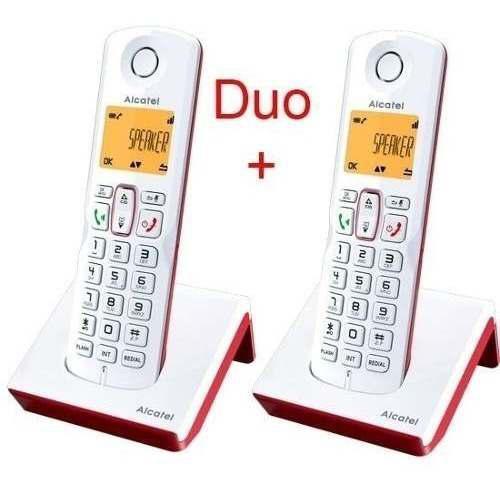 Teléfono Inalambrico Alcatel S250 Duo Colores Original