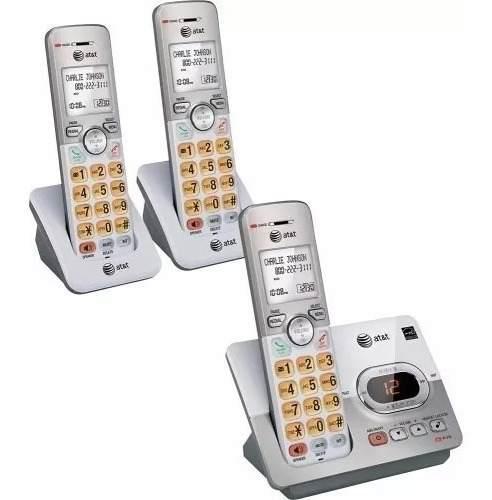 Teléfono Inalámbrico At&t Set 3 Teléfonos + Envío Gratis