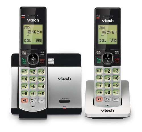 Teléfono Inalámbrico Doble Auricular Vtech Cs5119-2