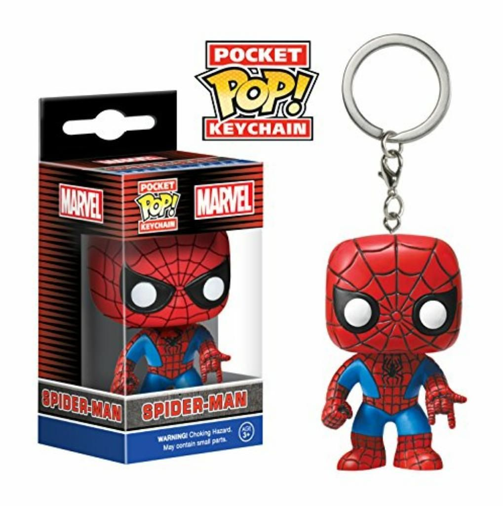 Funko Pop Spider Man Marvel Llavero
