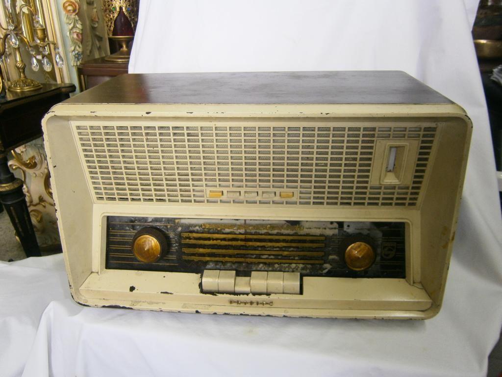 RADIO PHILIPS DE TECLAS CAFÉHABANO FUNCIONAL