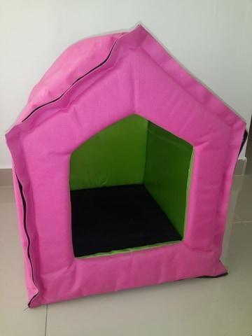 casa impermeable portátil para mascota pequeña