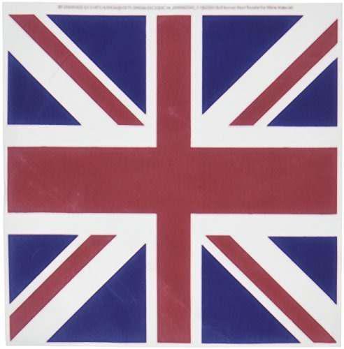 3drose Ht_62560_1 Union Jack Old British Naval Flag Iron On
