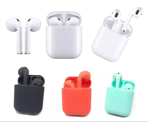 Audifonos AirPods Bluetooth I12 Táctiles Original