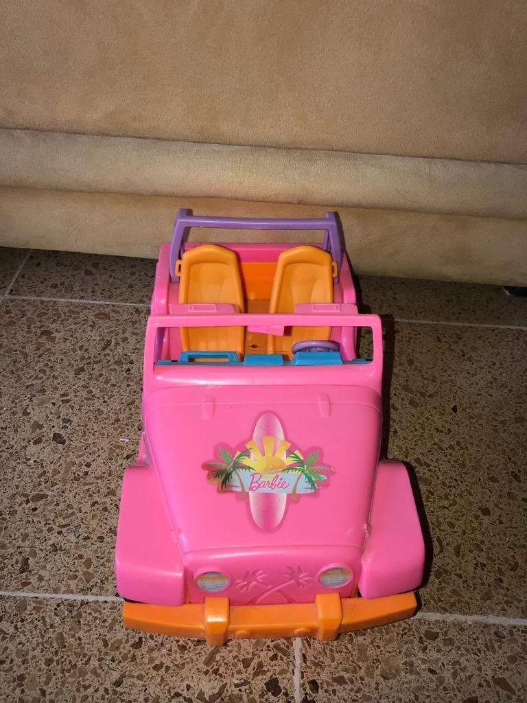 Carro de Playa de Barbie