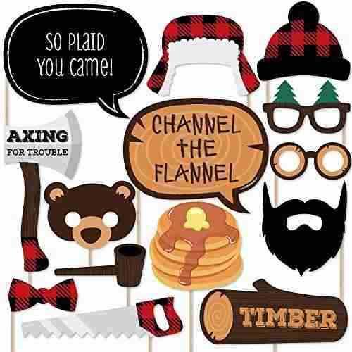 Leñador - Channel The Flannel - Kit De Accesorios Para !