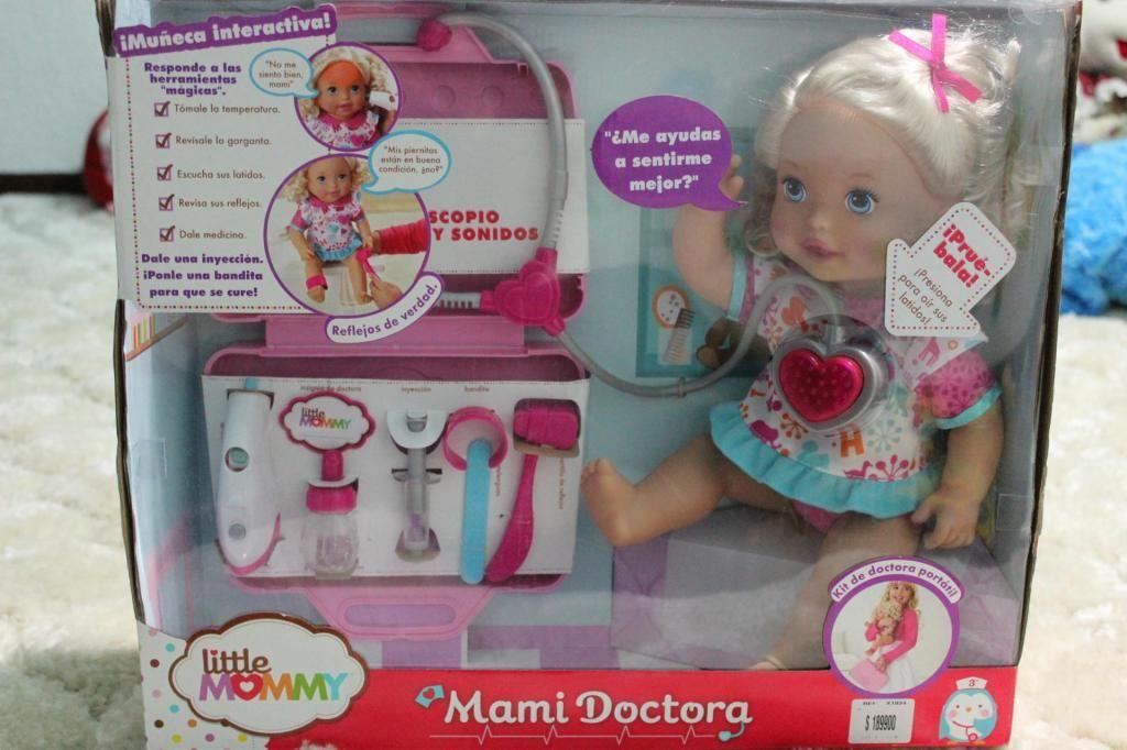 MUÑECA DOCTORA CON ACCESORIOS. NUEVA MARCA LITTLE MOMMY