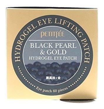 Petitfee Parche De Hidrogel Para Ojos De Perlas Negras Y Oro