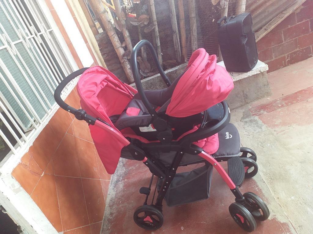 Se Vende Coche de Bebé con Silla de Auto